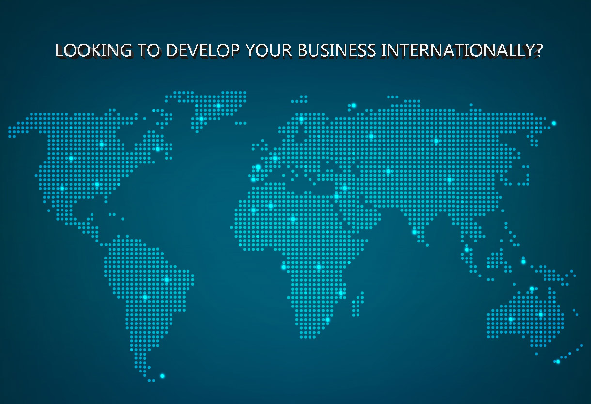 LOOKING TO DEVELOP YOUR BUSINESS INTERNATIONALLY?